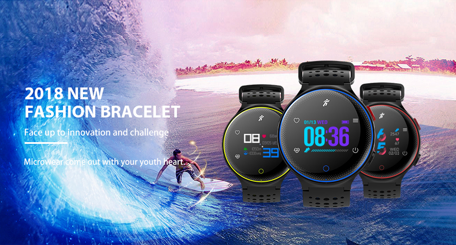 ColMi Smartwatch Heart Rate Tracker IP68 Waterproof Ultra-long Standby For IOS Android Phone Smart Watch 01