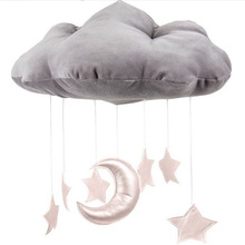 Baby set mobile hanging cloud decoration moon and star trailer