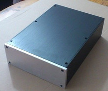 New JC2208 Full Aluminum DAC Enclosure AMP case power font b amplifier b font box chassis