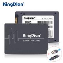 KingDian SSD 60 GB 120G 240 GB 480G Nowy Styl SATA3 2.5 cal Trudno Fabryka Bezpośrednio S200 HDD dysk Twardy HD S280 Z USB Data Cable
