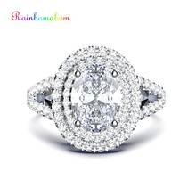 Кольцо rainbamabom Винтажное кольцо из 100% стерлингового серебра