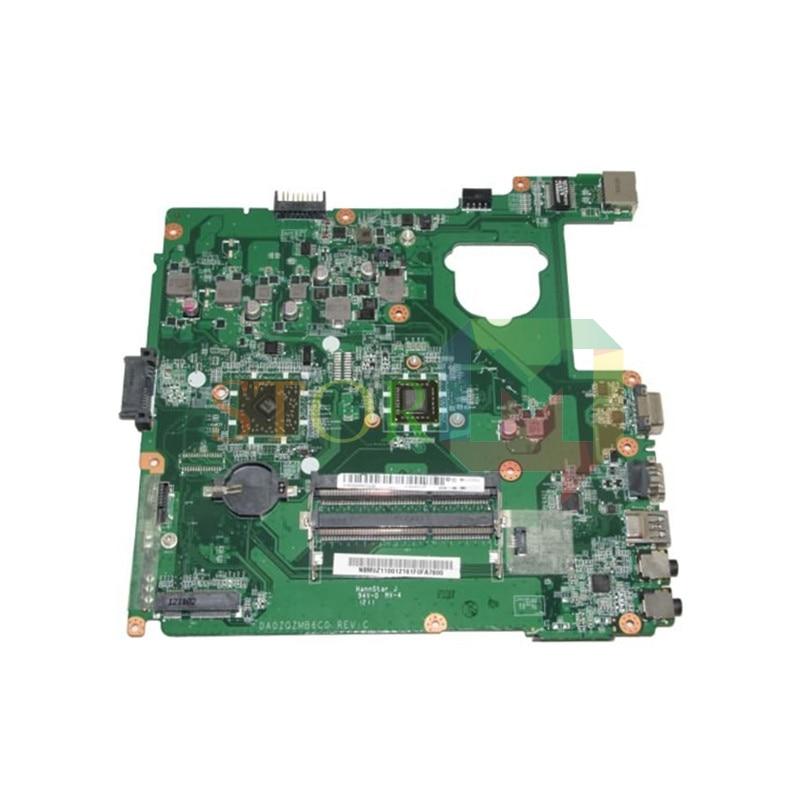 NOKOTION for acer aspire E1-421 laptop motherboard NBM0Z11001 DA0ZQZMB6C0 E1-1200 CPU DDR3 nokotion nbc0y11001 nb c0y11 001 q5wt6 la 8531p for acer aspire e1 521 laptop motherboard e1200 cpu ddr3