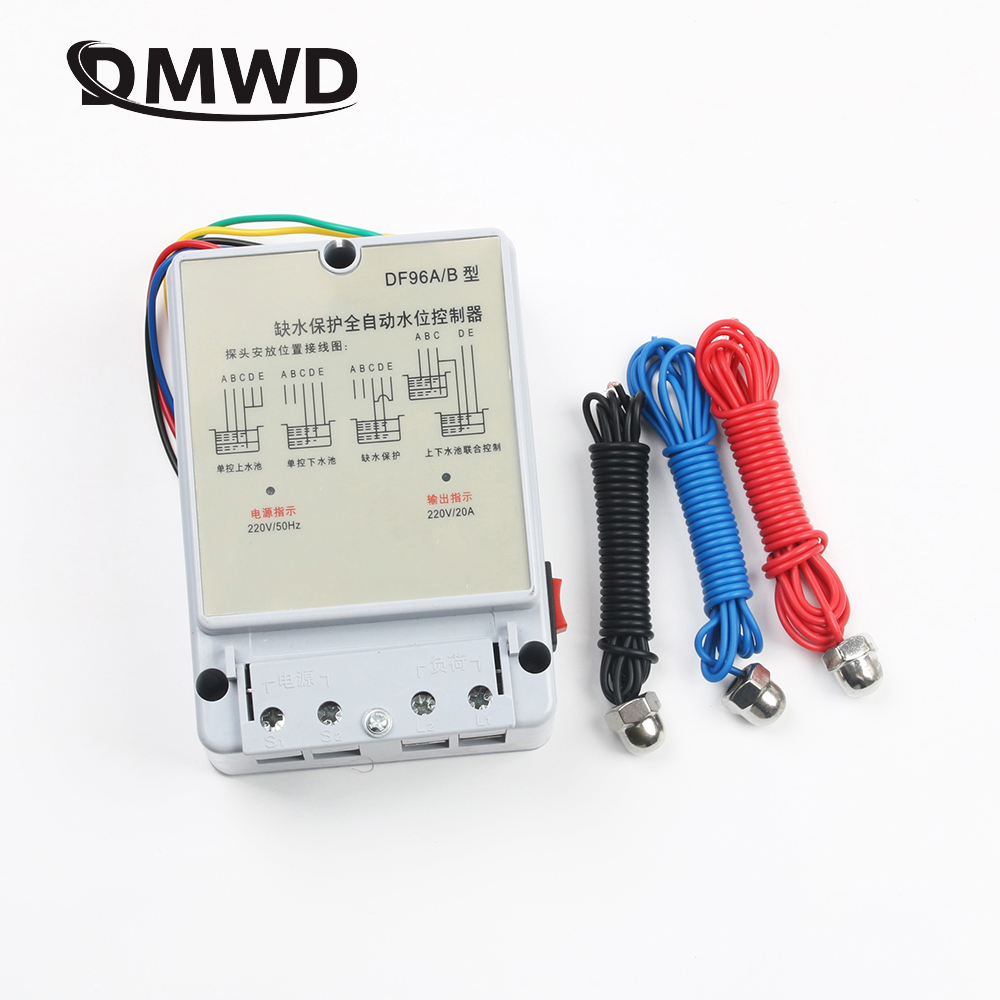DF-96B DF-96A  DF96A DF96B Automatic Water Level Controller  Pump Controller Cistern Automatic Liquid Switch 220V