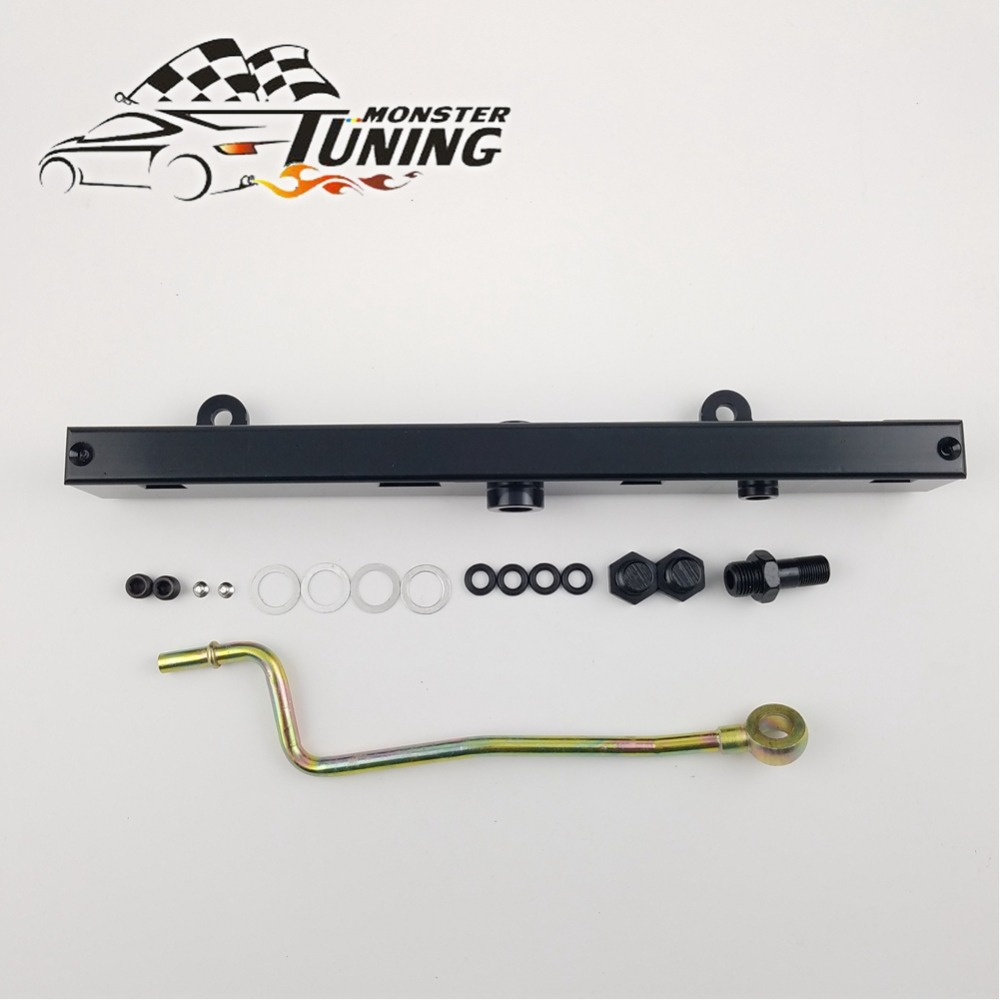 OBX Red BILLET FUEL RAIL FOR 02-06 ACURA RSX K20A K20A2 K20Z1 /& Civic SI