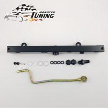 Tuning monster high volume fuel rail kit voor honda 02-06 voor Acura RSX voor Civic K20 K20A2 K20Z1 K20A3 K serie zwart