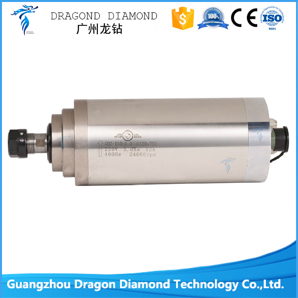 1hp 0 8kw Er11 40000rpm Precision High Speed Spindle Motor