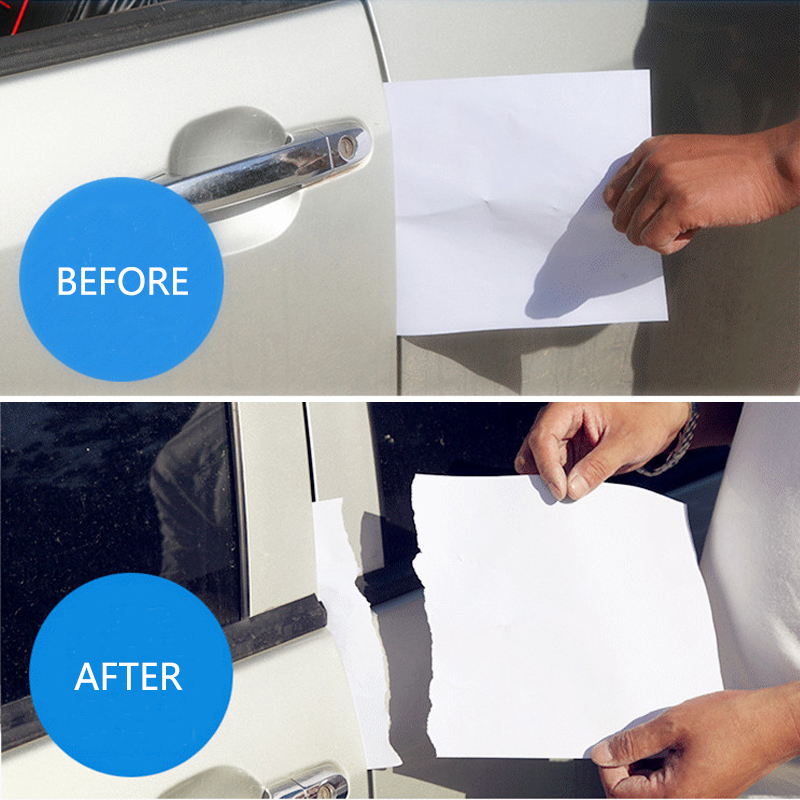 Car Door Edge Scratch Protector Strips Auto Stickers Protector Seal Door Mouldings Universal Car Interior Accessories Styling in Interior Mouldings from Automobiles Motorcycles