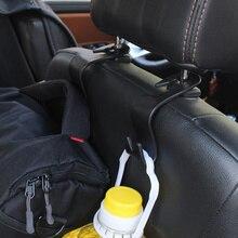 Для детей до 20 кг по самой низкой цене, несущих 1/2/4/6 шт., на заднюю часть автомобиля/на заднем сиденье крючки для подвешивания автотовары Универсальная автомобильная подвесная система хранения Организатор
