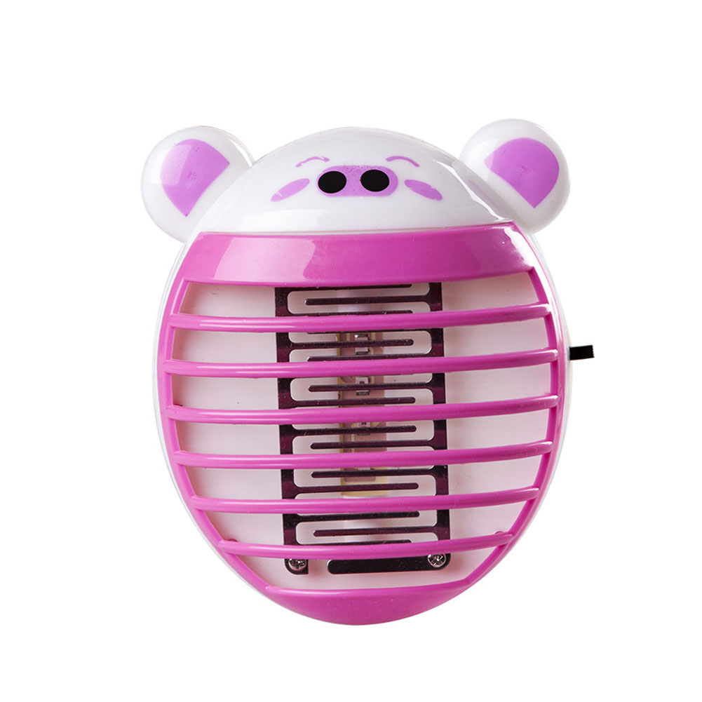 LED Mosquito Killer Lamp Night Light Electronic Bug Zapper Insect Catcher Trap For Kids Bedroom WWO66