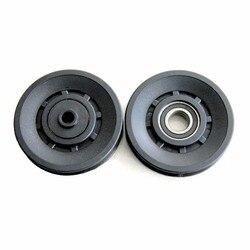 1 pcs 90mm diameter bearing pulley sheath fitness equipment component wearproof mute .jpg 250x250