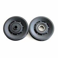 1 Pcs 90mm Diameter Bearing Pulley Sheath Fitness Equipment Component Wearproof Mute