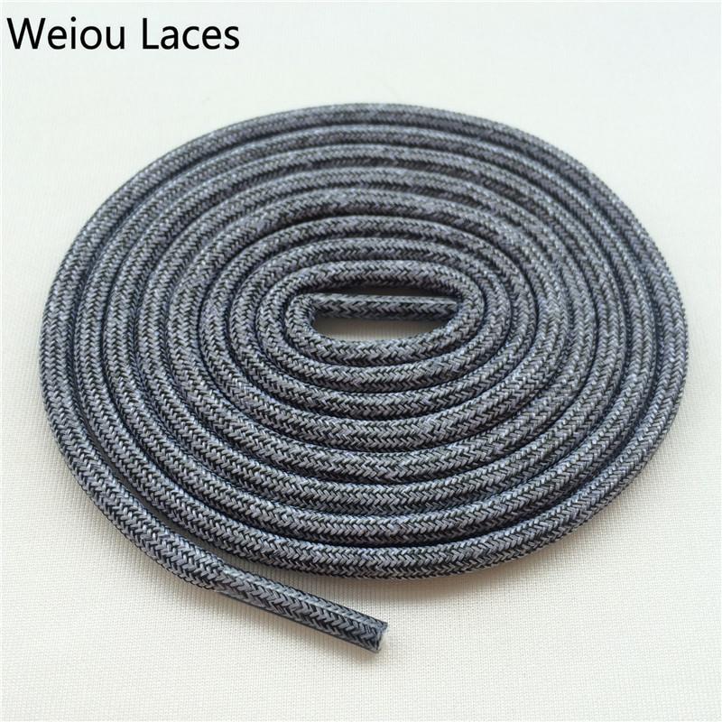 Weiou Polyester Walking Boot Laces Rope Lacing Sport Multicolor Shoelace Replacement Shoe Laces For Basketball Sneakers Shoes jup 50 pairs sneaker shoelaces skate boot laces outdoor sport casual multicolor bumps round shoelace hiking slip rope shoe laces