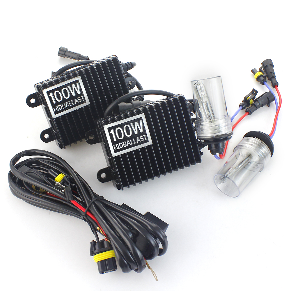 75W 100W H7 Xenon HID Kit H4 H1 H11 H8 9005 HB3 9006 HB4 881 D2S xenon hid ballast For Car Light Headlight 4300K 6000K 8000K 24V canbus error free ac hid xenon conversion kit emc ballast headlights foglights h1 h3 h7 9005 hb3 9006 hb4 h11 4300k 6000k 8000k