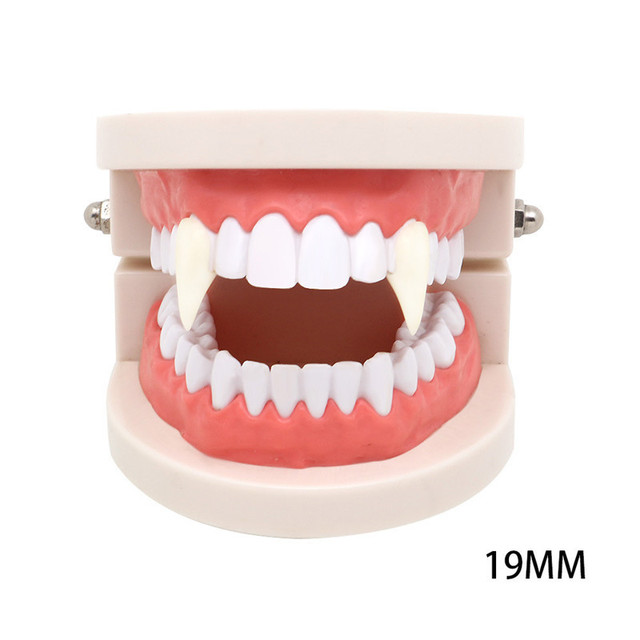 Punk Teeth Vampire Alloy Small Cusp Braces Halloween Cosplay Props Fake  Teeth Suit Men Women Body Jewelry