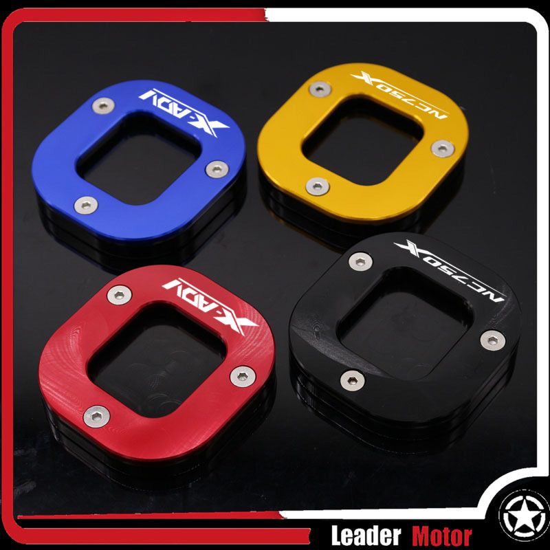Kickstand Sidestand Stand Extension Enlarger Pad Motorcycle
