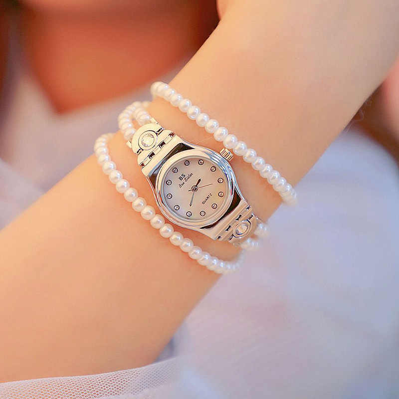 Hot Sale Women Watches Montre Top Brand Pearl Multi-Layer Bracelet Dress Watches Ladies Wristwatch Relogios Femininos saat