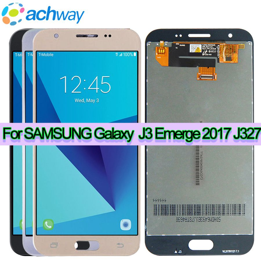 J327 LCD For SAMSUNG Galaxy J3 prime 2017 J327 LCD Display Touch Screen Digitizer Assembly New Replacement Parts J327 displayJ327 LCD For SAMSUNG Galaxy J3 prime 2017 J327 LCD Display Touch Screen Digitizer Assembly New Replacement Parts J327 display