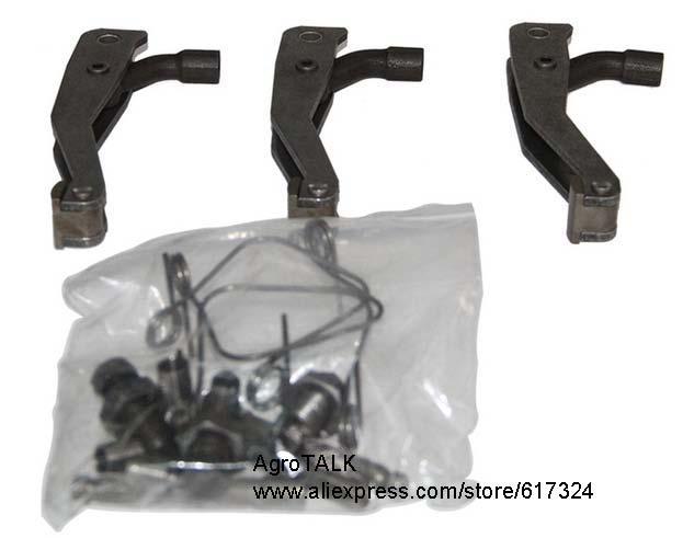 Piezas de tractor Foton lovol, Juego de palanca LUK de 12 pulgadas con muelles de liberación, número de pieza: PL-02615-0051-02