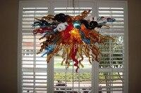 Free Shipping UL/CE 110v/220v LED Bulb Murano Art Glass Chandelier for Dining Room