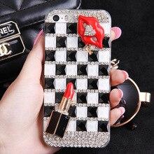Bling diamond mobile phone case shell для vivo x9 x9plus для meizu meilan note5 m5 примечание для oppo r9s/r9s плюс случаях охватывает