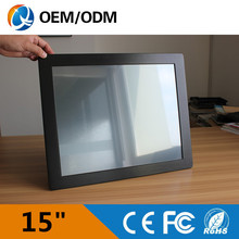 Desktop/wall hanging/embedded 15 inch industrial panel pc Resolution 1024×768 all in one PC with Intel 3217U 1.9GHz