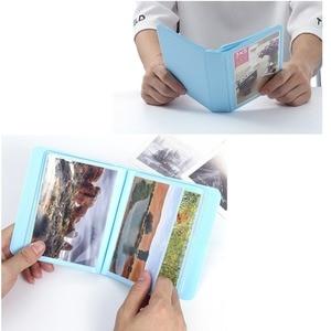 Image 3 - 32 Pockets Colorful 3X5 Mini Single Photo Album Picture Case Storage for 5 Inch Photo / Instax WIDE Film