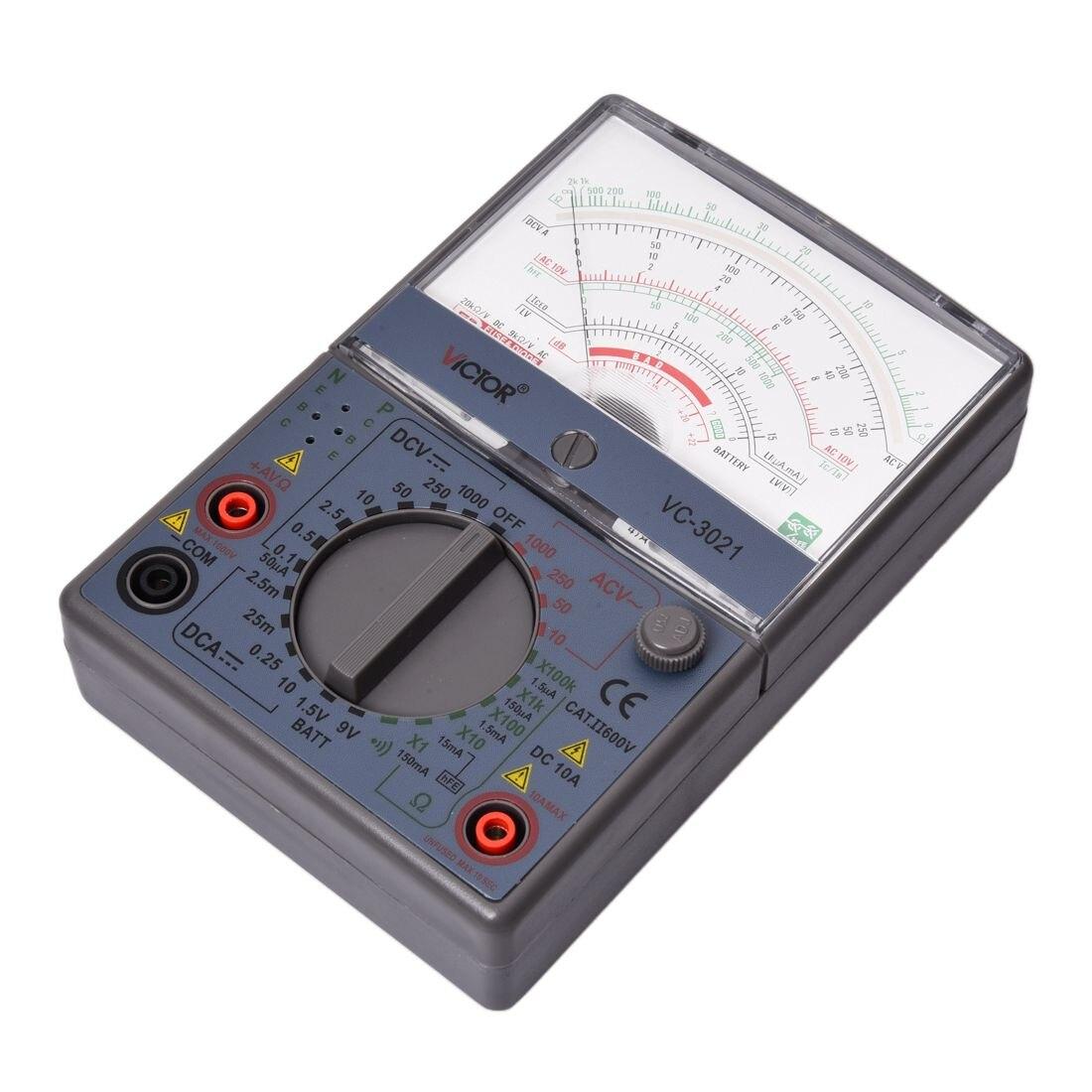 VICTOR VC3021 Analog Multimeters, Mechanical Multimeter, The New, Measurable 4 8 days arrival hioki 3030 10 analog multimeters