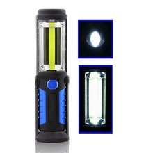 Technology Hand Torch LED Lamp Work Light with USB Charging Port, Pivoting, Flashlight for Camping, Hunting, Fishing