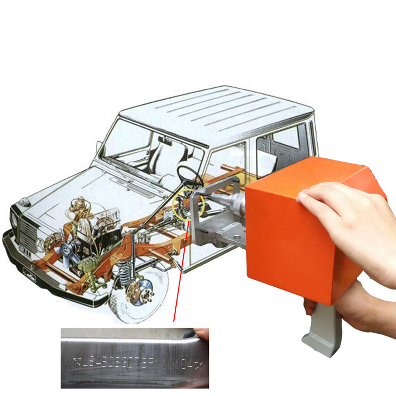 ThorX7 Marking Chevrolet VIN number Hand Engraving Machine caterham 7 csr