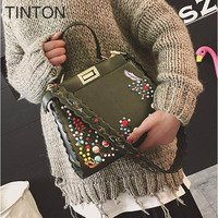 Bags For Women 2018 Fashion Embroidery Shoulder Bag Casual Hot Shoulder Bags Vintage Female Crossbody Bags