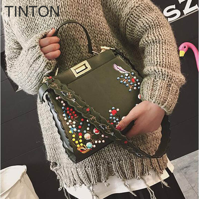bags for women 2017 fashion embroidery shoulder bag wild strap hot shoulder bags designer vintage crossbody bags luxury handbags tinton 2018 new fashion women bags mini saddle shoulder bag embroidery crane patchwork national vintage crossbody bags for women