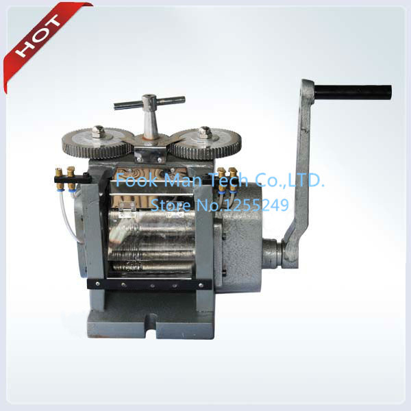 2014 NEW CDD0151 Roller Width 110 mm Roller Dia 50 mm Mini Rolling Mill Hand Rolling Mill for Jewelry Machine and Equipment