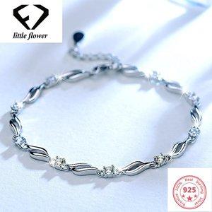 S925 Silver Diamond Bracelet F
