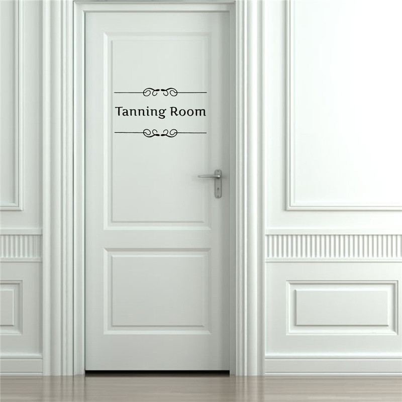 Best Promotion Diy Home Room Door Sign Decoration Wall Stickers Art