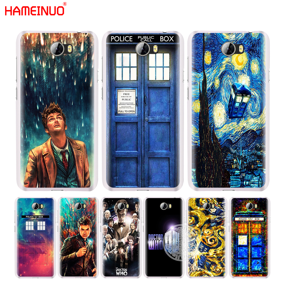 HAMEINUO Doctor Who police box call cell phone Cover Case for Huawei Honor 5A LYO-L21 5.0 inch 6A 6C 6X 9 NOVA PLUS Y3 II 2 ...