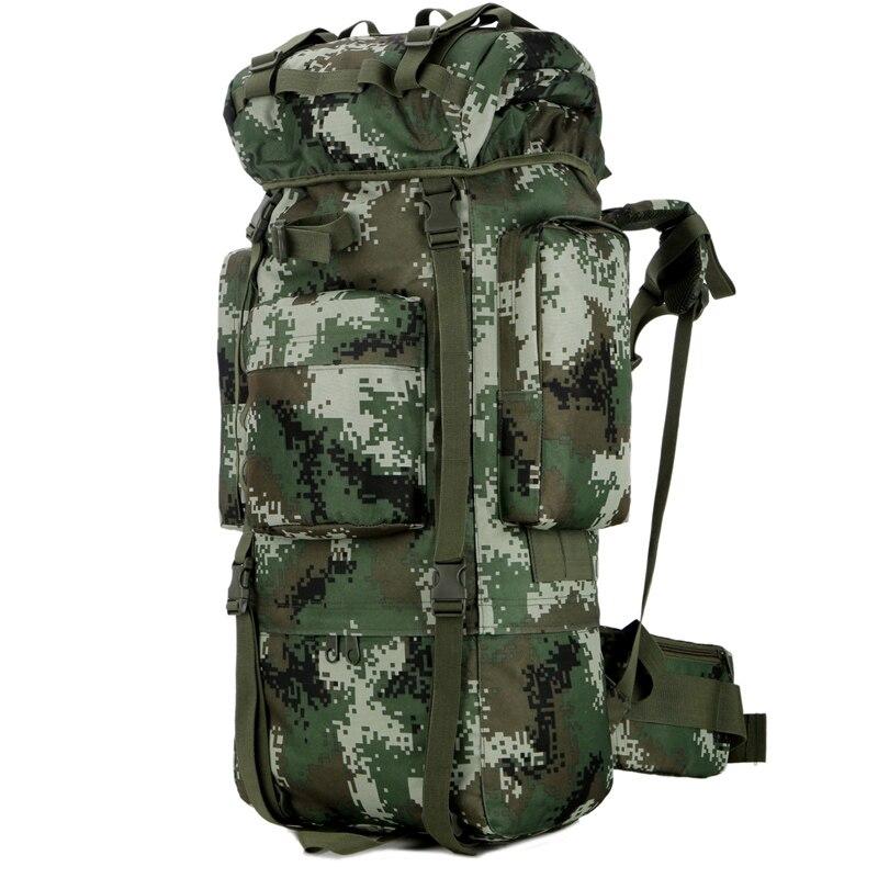 Открытый водонепроницаемый 80L военный рюкзак тактическая сумка спортивная походная дорожная сумка рюкзак охотничий рюкзак Военная Сумка - 3