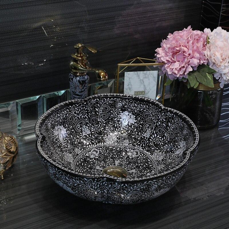 Top china sanitary ware bathroom Handmade porcelain art ...