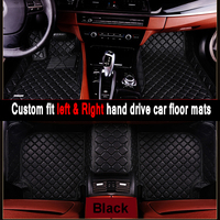 Car mats Custom fit car floor mats Peugeot peugeot 5008 307 508 308 3008 301 2008 207 sw car styling rugs floor liners