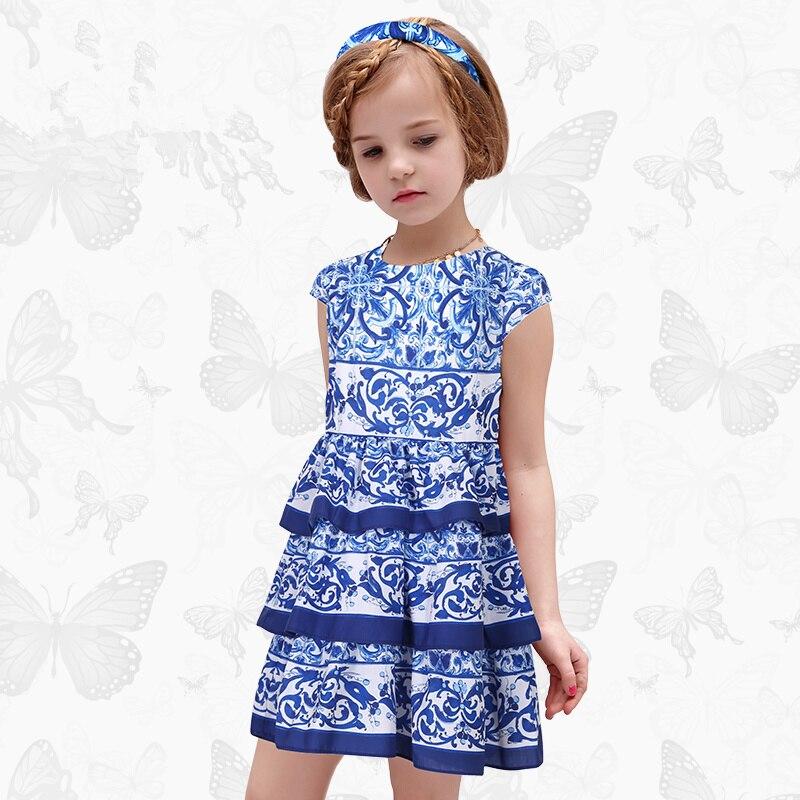 W. L. Monsoon filles Robe avec libellule à la main marque princesse Robe à manches longues Robe Fille vêtements enfants robes 22