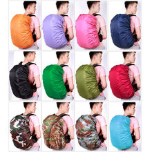 1 Pcs 35L 45L 70L Waterproof Dust Rain Cover Portable Backpack Travel Camping Rucksack Bag Rainproof Backpack Cover(China)