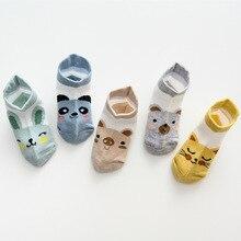 baby Socks 5Pairs/lot Summer Mesh Thin Baby for Girls Cotton Infant Casual Boy Toddler Cartoon Newborn Cute