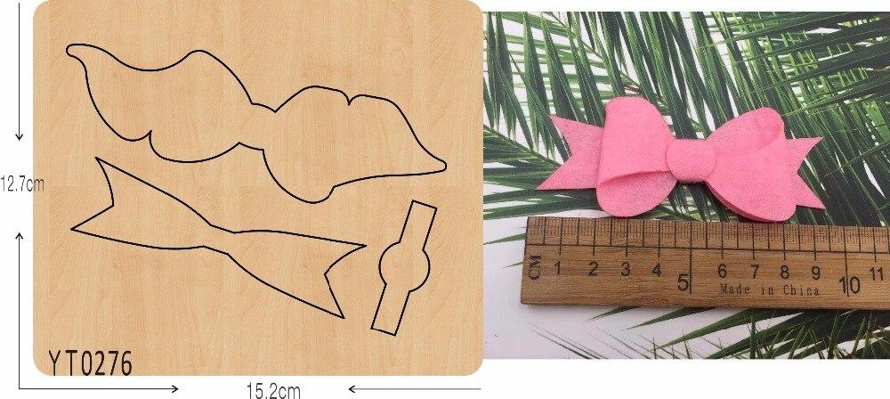 Creative bow 10 bricolage outil de découpe/YT0276/Scrapbook moule-in Matrices à découper from Maison & Animalerie    1