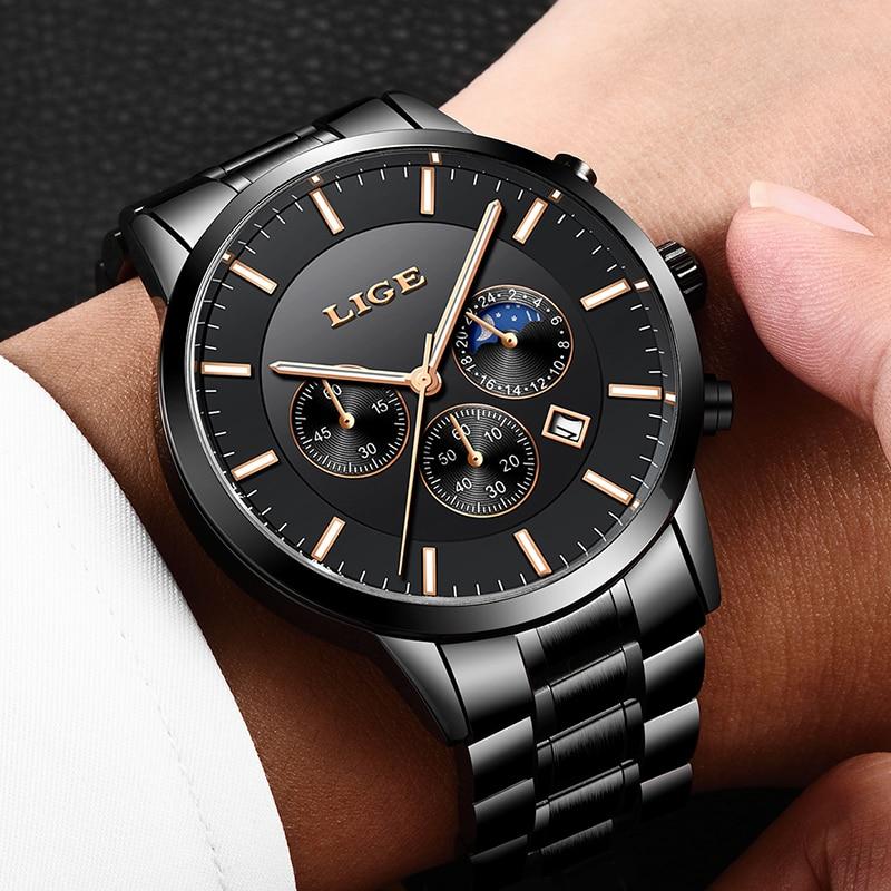 2e4f1b783292 Reloj Masculino en este momento nuevo deporte cronógrafo para hombre relojes  superior de la marca de