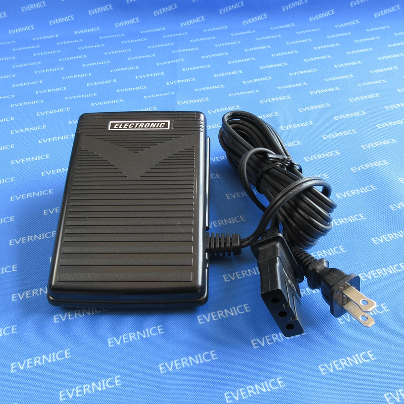 Foot Control Pedal For Brother Sewing Machine Sergers 268 BM2600 L25 NX200 PS100 110-120 Volt, Max 1.4A, Variable Speed.