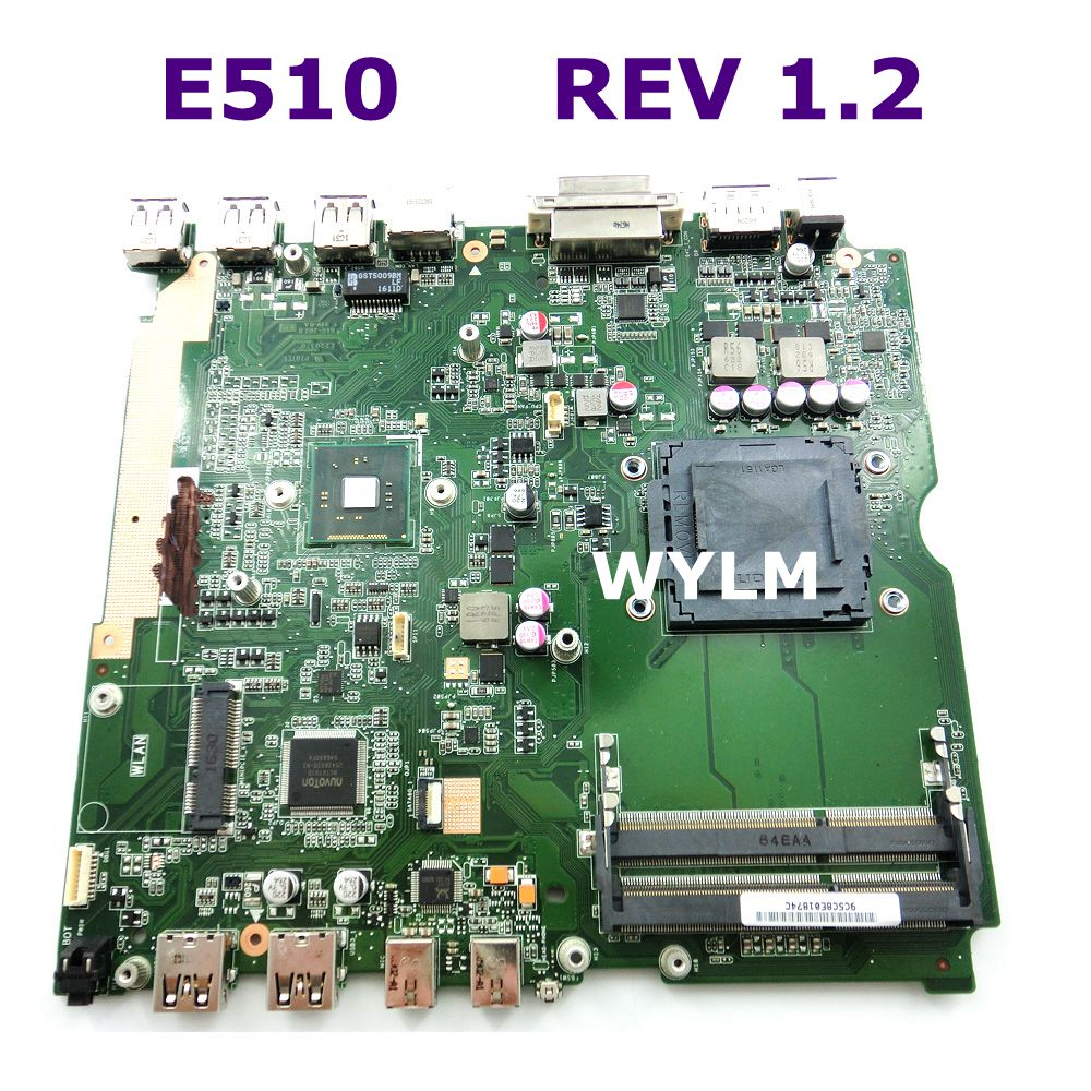 E510 All-in-one mainboard REV 1.2 For ASUS E510 Desktop motherboard 90PX0080-R01000 100% Tested Working Well Free Shipping