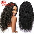 cheap brazilian human hair wig wet and wavy full lace wigs brazilian curly virgin lace wig 130% density Swiss lace