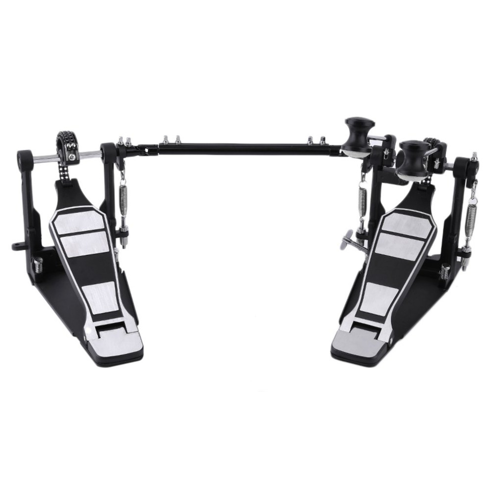 1 Set Bass Drum Pedal Beater Singer Tension Spring and Single Chain Drive Percussion Instrument Parts Accessories Ship From US mini finger drum set touch drumming led light jazz percussion