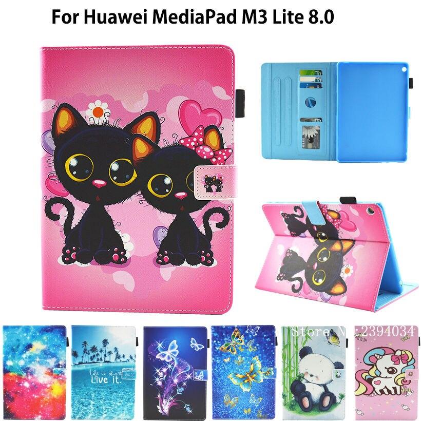 Case For Huawei Mediapad M3 Lite 8.0 CPN-L09 CPN-W09 CPN-AL00 8