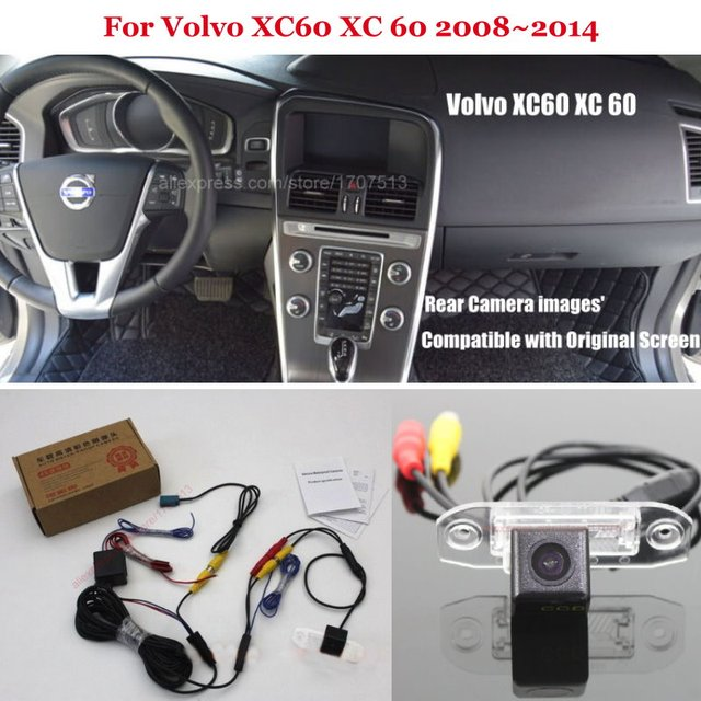Car Rear View Camera For Volvo XC60 XC 60 2008~2014 - Back Up Reverse Camera RCA & Original Screen Compatible