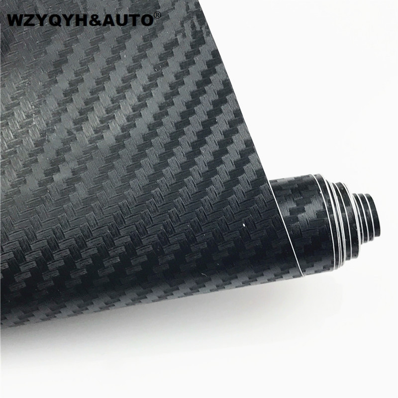 10x127cm Carbon Fiber Vinyl Film Car Stickers Waterproof Car Styling Wrap For Auto Vehicle Detailing Car accessories Motorcycle 2x universal waterproof rearview mirror film car stickers antifog auto dimming sticker rain proof vinyl wrap film car styling